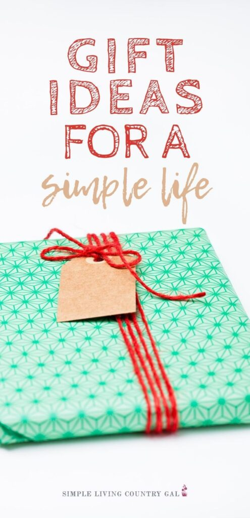 the perfect gifts for a simple life