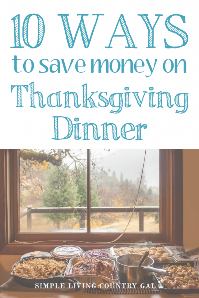 FREE Thanksgiving Dinner Planner that you can use to save money on Thanksgiving dinner