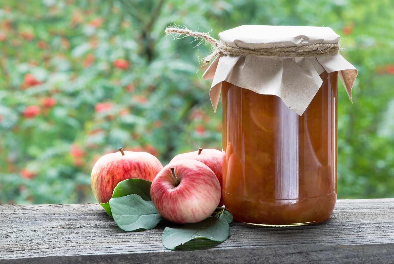 A JAR OF CANNED APPLESAUCE. How to can applesauce for beginners