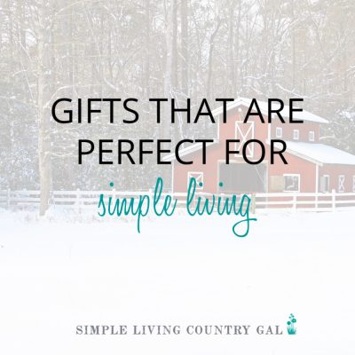 If you are striving to live a more simple life then another nick nack may be the last thing you want this Christmas. This year make a wish list of all the things you need to create a simple life you love. #simpleliving #simplelife #gifts #giftguide