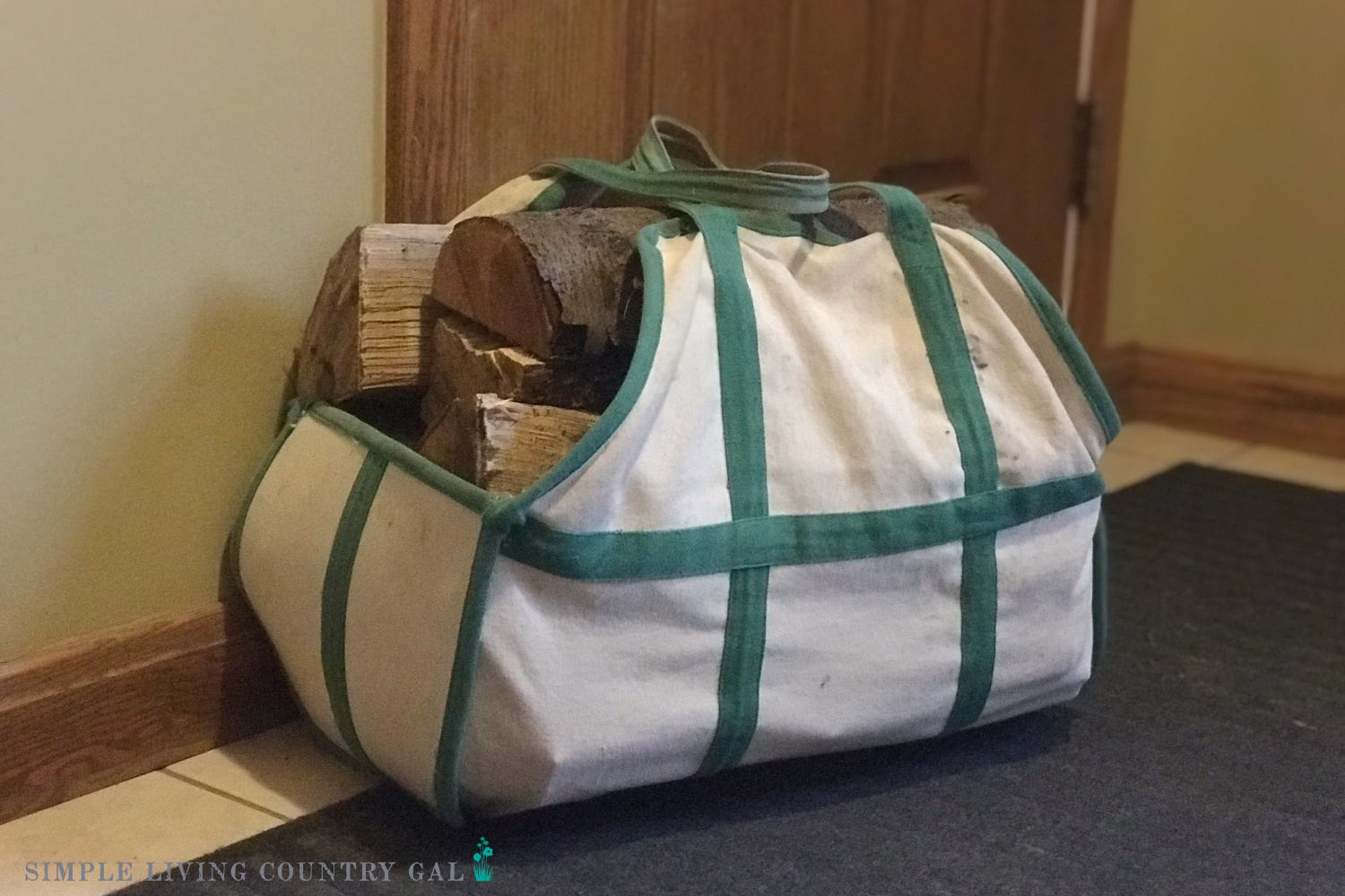 Wood bag a great gift for simple living