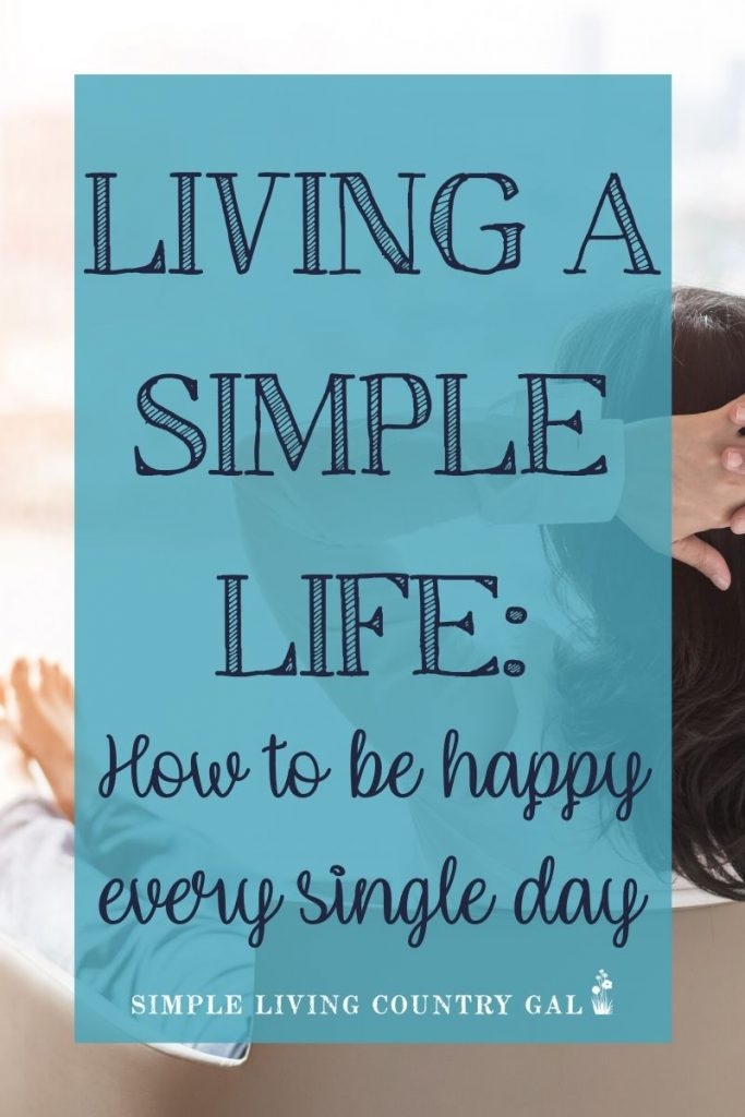 Do you long to slow down and enjoy what you have more? Do you feel as if you are missing the good things? The answers to living a simple life just might be closer than you think. Learn how to turn chaos into simplicity just by embracing what you already have with what you already own. Simple living tips you can use today to embrace the simple life in your home and with your family. #simplelife #simpleliving #livingsimple