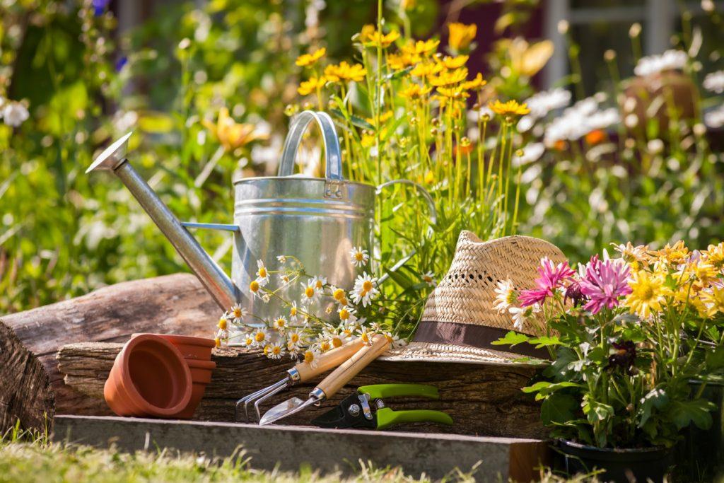 spring garden supplies garden clean up checklist