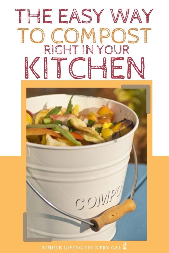 how to compost from your kitchen