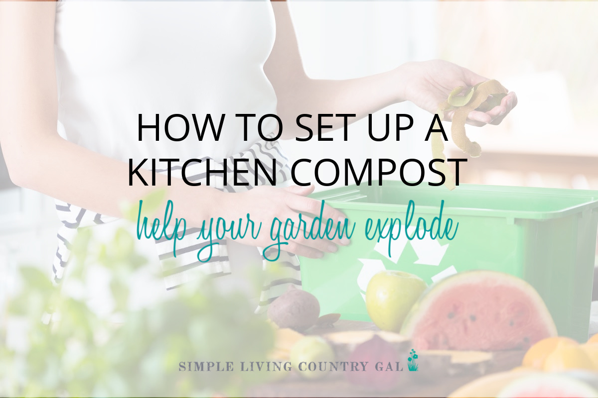 How to Compost Indoors to Help your Garden Explode!