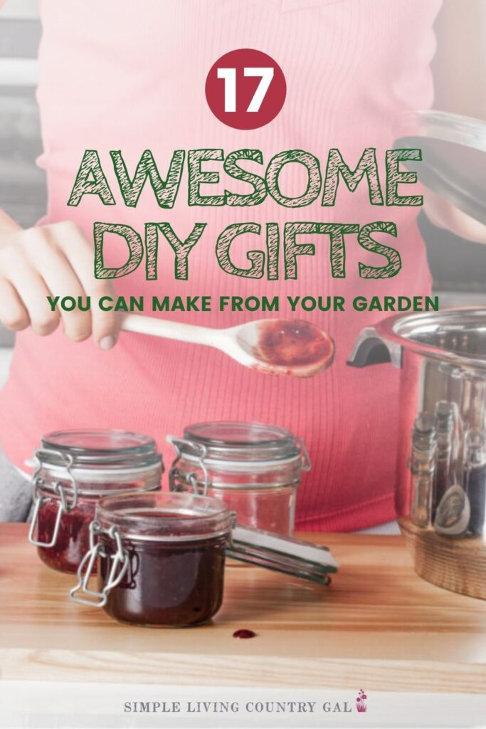 Simple DIY gifts you can make from your garden for anyone on your list