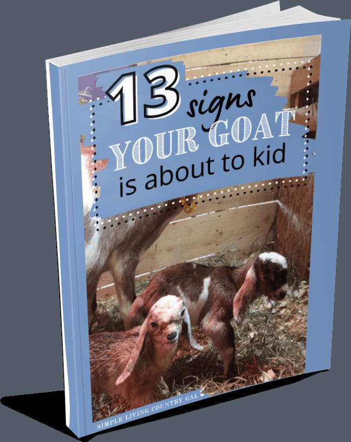 magazine image of 13 goat kidding signs